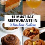 Winston Salem Restaurant Guide Pinterest Image