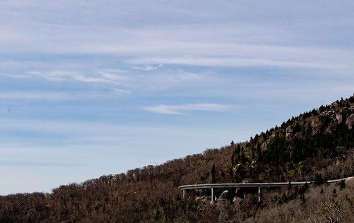 Blue Ridge Parkway Linn Cove Viaduct Image