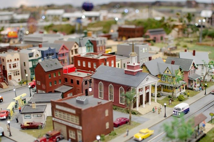 Downtown Wilmington NC Railroad Museum Image