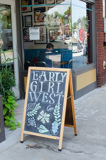 Early Girl Eatery West Asheville NC Restaurant Image