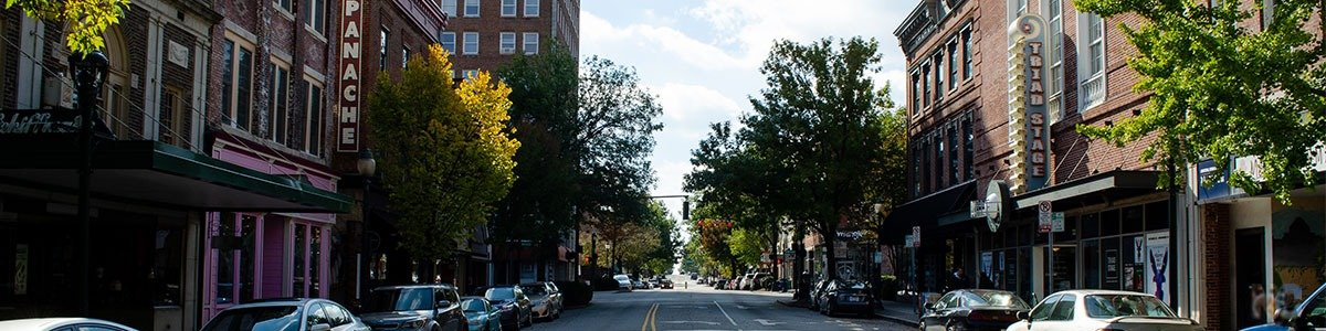Greensboro NC Downtown Image