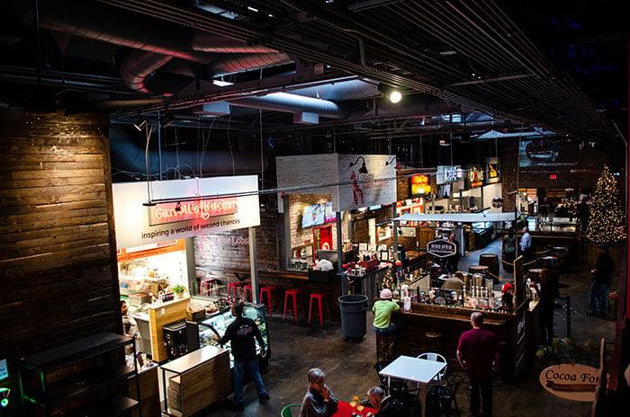 Raleigh Food Morgan Street Food Hall Image