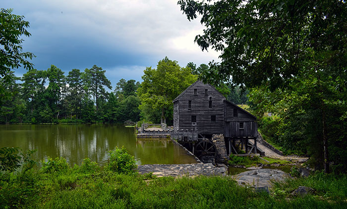 Stuff to do in Raleigh NC Yates Mill County Park Image