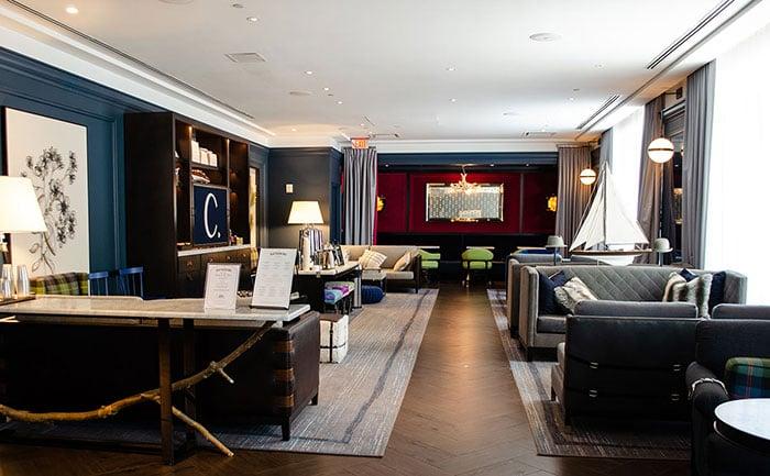 The Cardinal Hotel in Winston-Salem NC Living Room Image