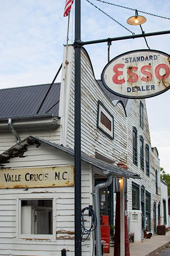 Valle Crucis NC Original Mast General Store Outside Image