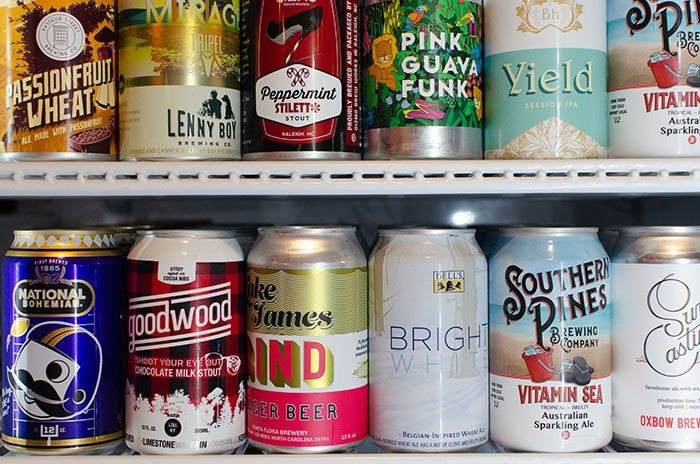 Beer in Goldsboro NC Well Travelled Beer Bottle Shop Image