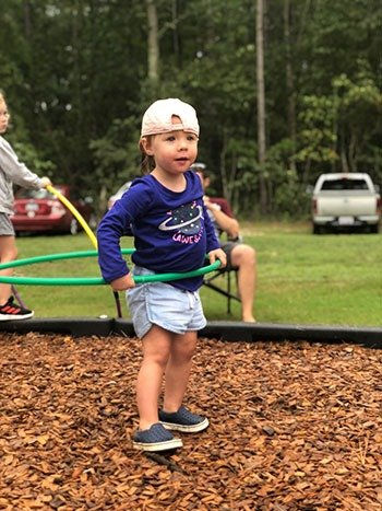Family Friendly Things to Do in Fayetteville NC Dirtbag Ales Brewery Outside Playground Image