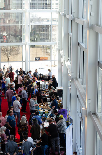 February in North Carolina Bull City Food and Beer Experience DPAC Image