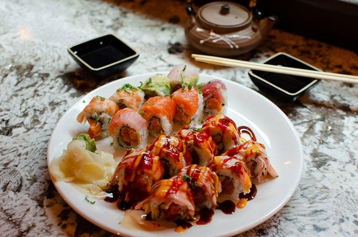 Goldsboro Restaurants Jays Burgers and Sushi