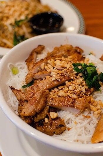 Greensboro Restaurants Pho Vuong Bun Dish Image