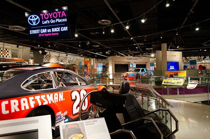 Inside the NASCAR Hall of Fame in Charlotte NC Image
