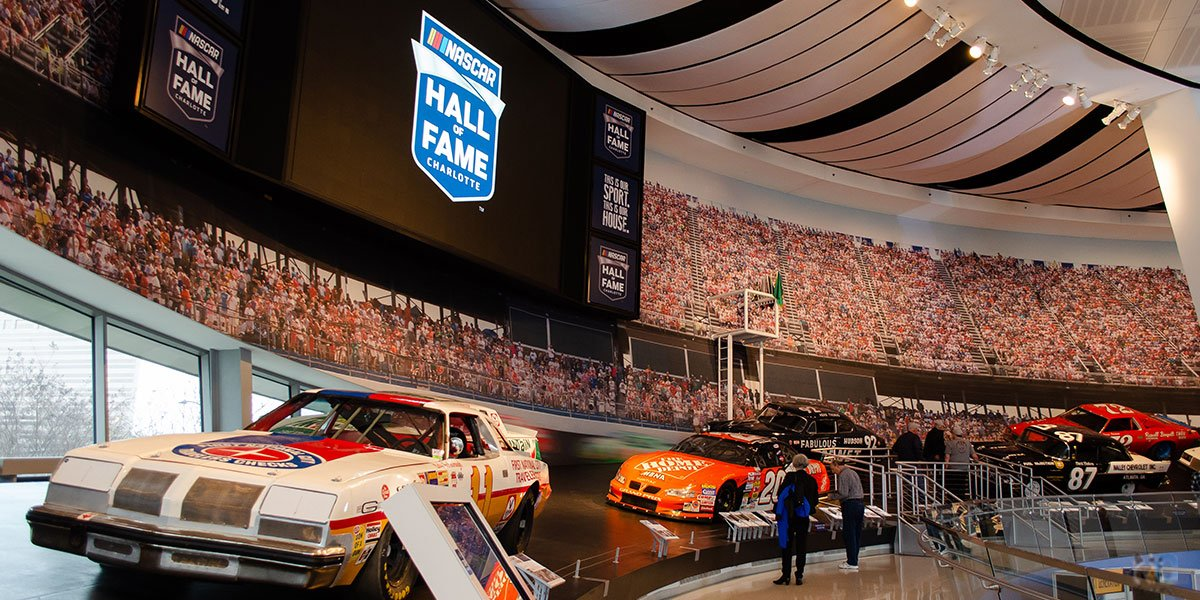 NASCAR Hall of Fame Charlotte NC Travel Guide Featured Image