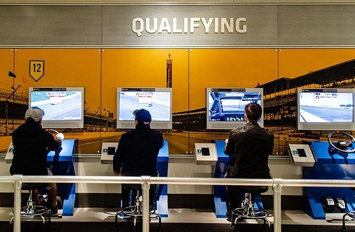 NASCAR Museum Charlotte Racing Simulator Image