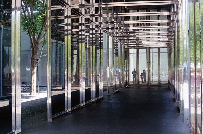 NC Museum of Art West Building Entrance Image