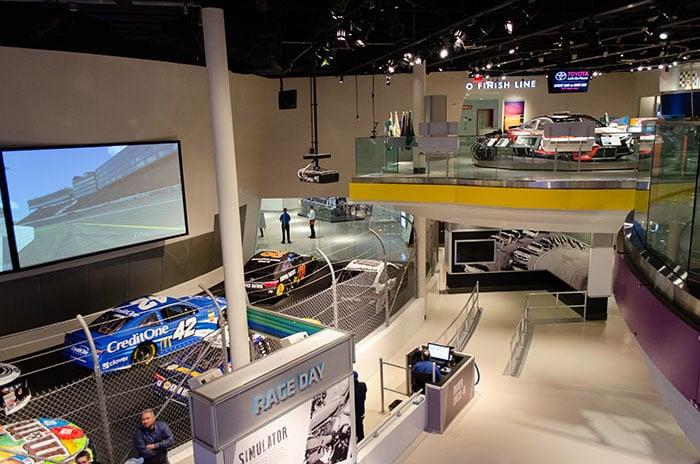 Racing Charlotte NC Hall of Fame Image