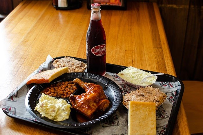 Day Trips in North Carolina Skylight Inn Ayden NC Image
