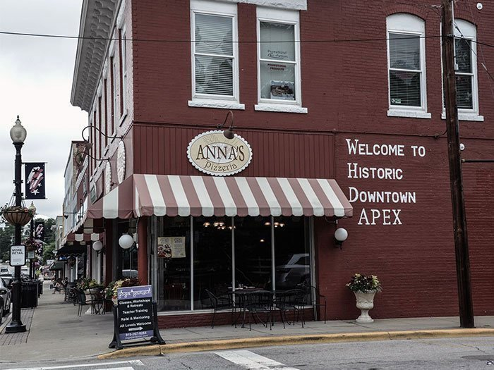 Downtown Apex NC Image