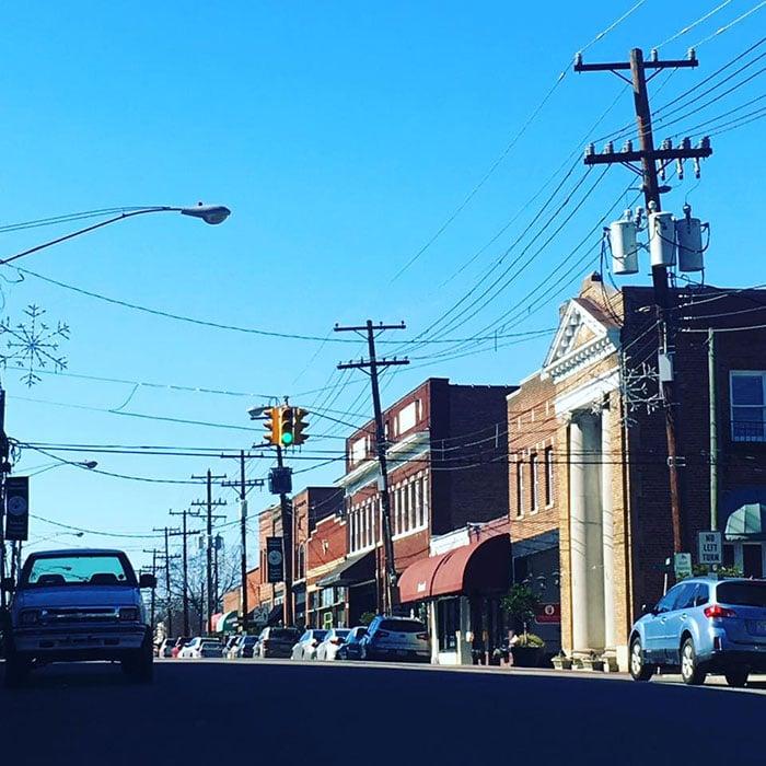 Downtown Mebane NC Image