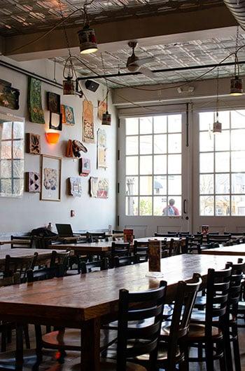 Durham casual restaurants pizza image