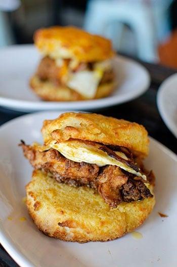 Food in Durham NC Debbie Lous Image