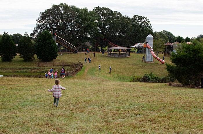 Kid Activities North Carolina Riverbend Farm Cabarrus County Image