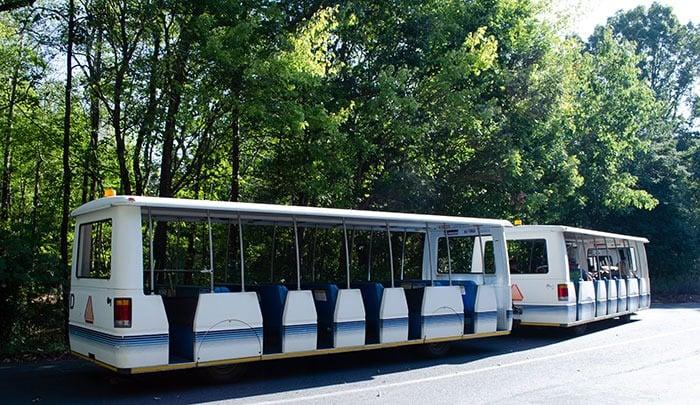 Tram at Asheboro NC Zoo Image