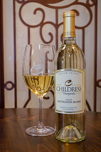 Childress Vineyards NC Wine Image
