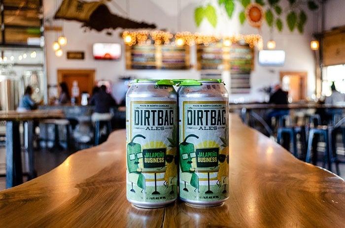 Dirtbag ales fayetteville beer image