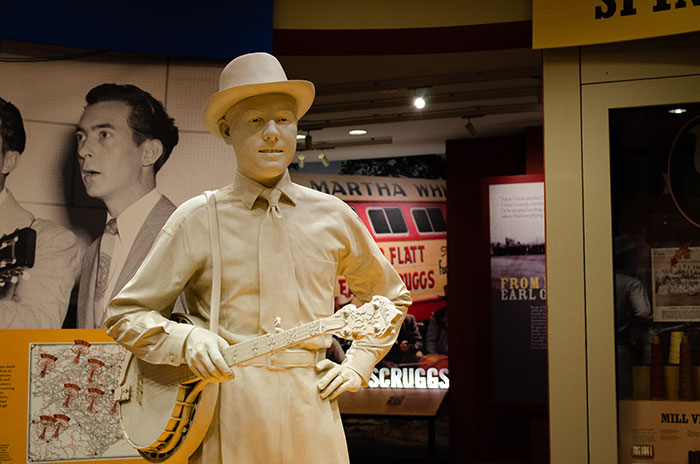Earl Scruggs Statue Shelby NC Image
