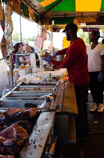 Food Events in North Carolina Lexington BBQ Festival Image
