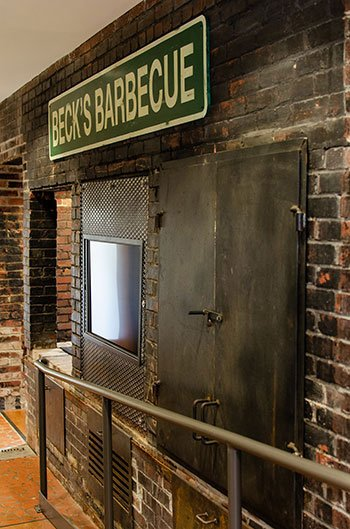 Lexington bbq history pits image