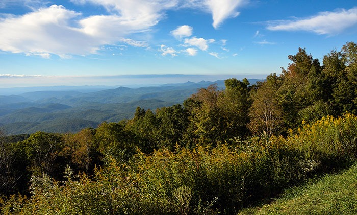 North Carolina Blue Ridge Mountains Image