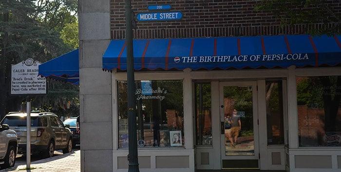 North Carolina State Facts Pepsi Original Location Image