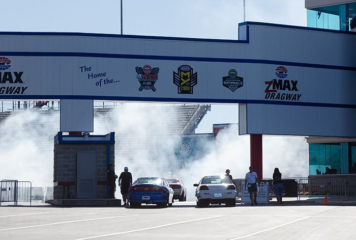 Best Family Weekend Trips from Charlotte NC Concord zMax Dragway Image