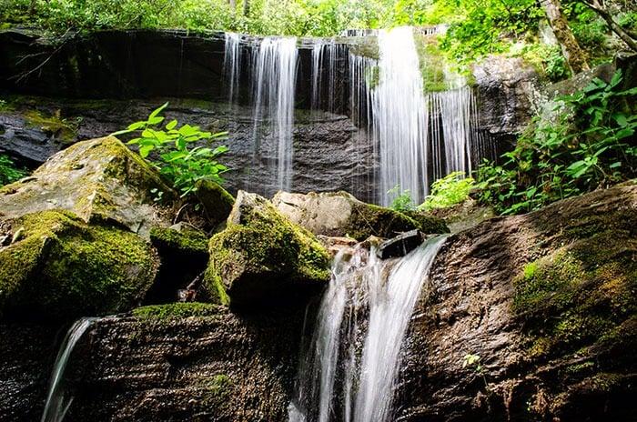 Grassy Creek Falls Image