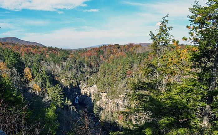 Mountains near Charlotte NC Linville Falls Image