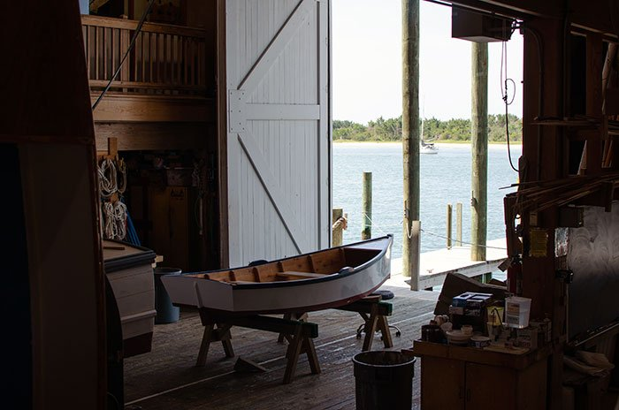 NC Maritime Museum Beaufort Harvey W Smith Watercraft Center