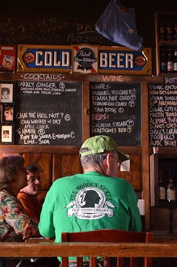 Restaurants in Hillsborough NC Wooden Nickel Image