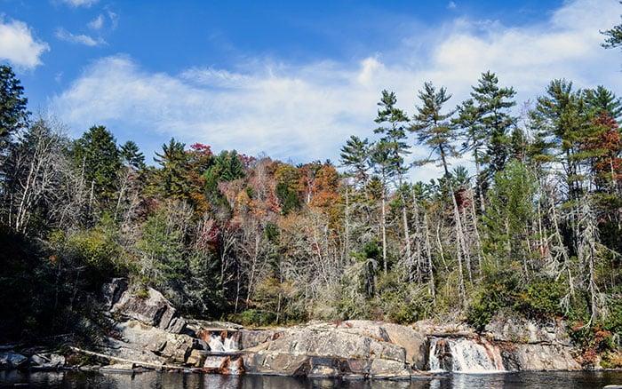 Waterfalls in North Carolina Linville Falls Image