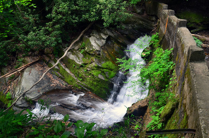 Catawba Falls Stone Dam