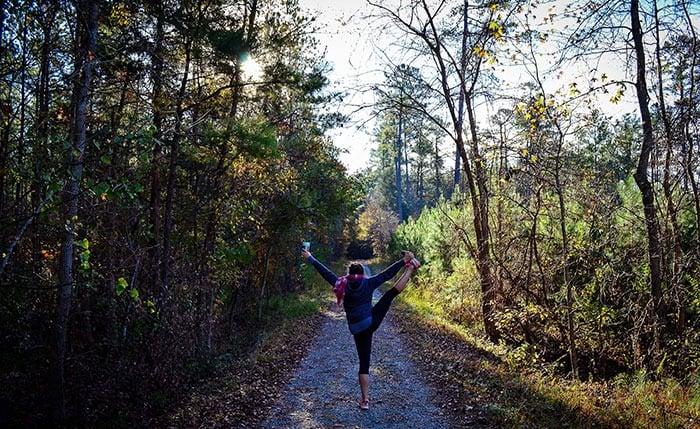 Duke Forest in Durham North Carolina