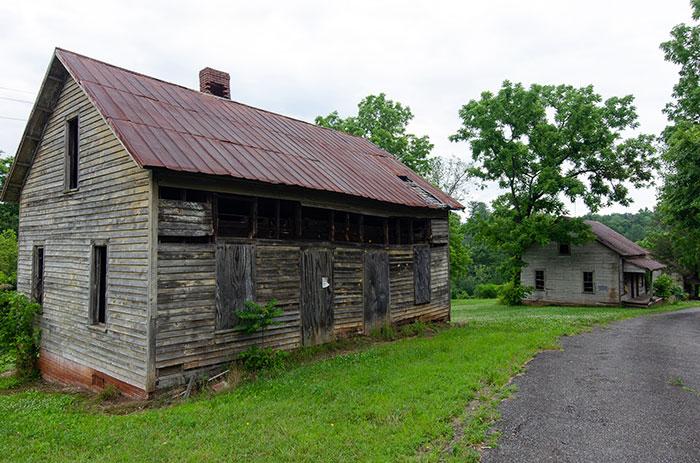 Henry River Mill Village Hildebran near Asheville NC