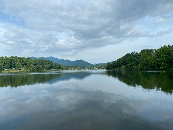 Lake Junaluska near Asheville NC