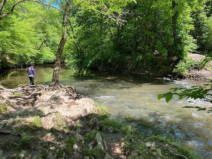Medoc Mountain Fishing Creek