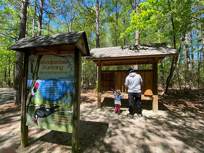 Medoc Mountain Habitat Adventure Trail