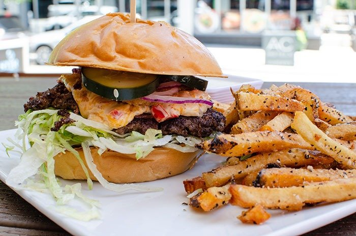 Local ingredients are a big deal at STIR, one of our favorite restaurants in Raleigh.