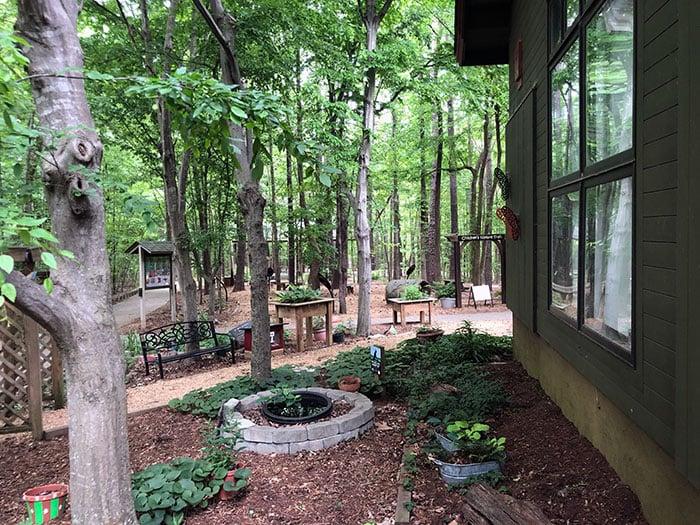 Stevens Nature Center and Childrens Garden at Hemlock Bluffs Cary