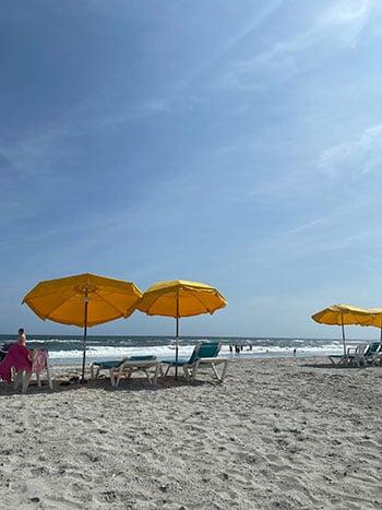 Atlantic Beach umbrellas