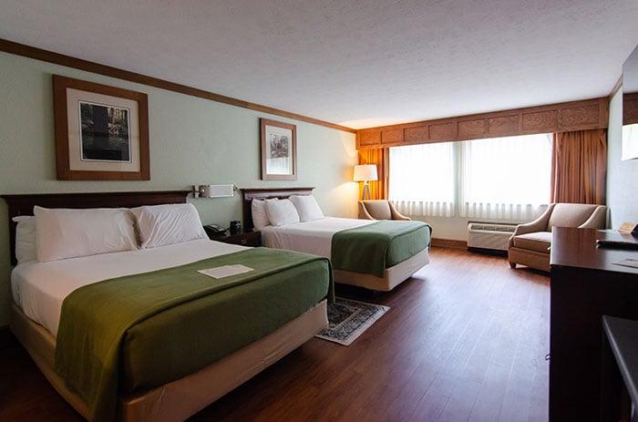 Chetola Resort Lodge double room