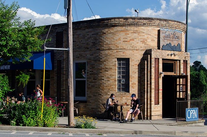 Scoping out cool buildings ranks among our favorite things to do in Morganton and Fonta Flora Brewing is definitely one.